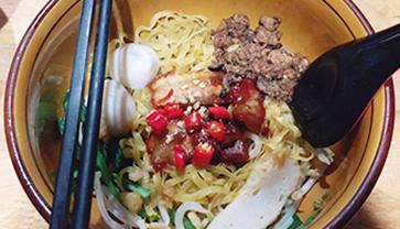 Let's eat Mee Pok together!