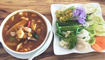 Enjoy Tasting Kor Moem at Coffee Culture Restaurant