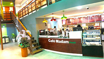"The Café Madam Fresh 310, a coffee shop that would make you feel ""Relax"""