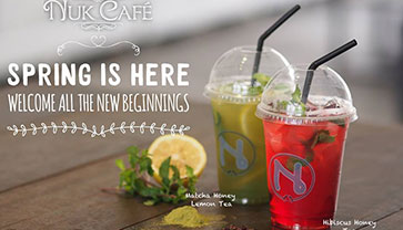 "NUK Café ""A Place to Be"""