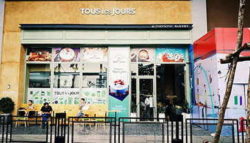 TOUS les JOURS Cambodia Where You Can Find Varieties of Fresh And Delicious Bread or Cake