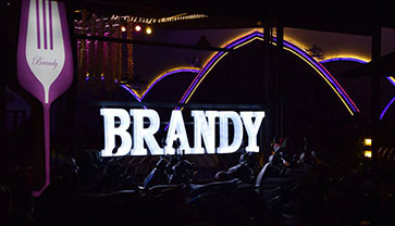 The Night is Still Young at Brandy Restaurant