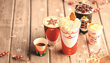 It's Christmas Time!  New Festive Drinks Are Waiting For You!