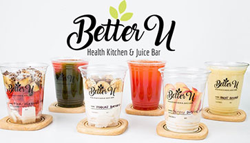 Stay Healthy, Stay Beautiful at Better U Health Kitchen & Juice Bar