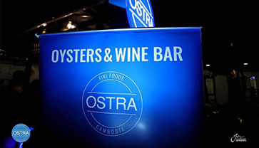 Get the freshest Oysters at The Oyster Bar by Ostra Fine Foods