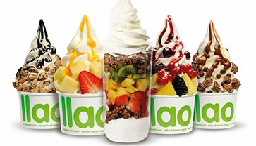 Find Healthy Yoghurts at llaollao Cambodia